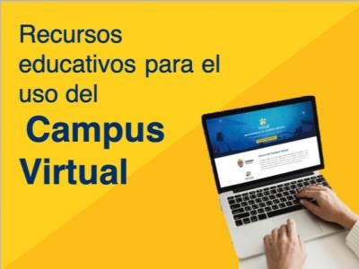 Recursos educativos para el uso del campus virtual